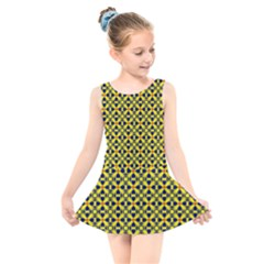 Df Sanhita Manjul Kids  Skater Dress Swimsuit by deformigo