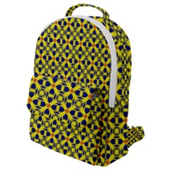 Df Sanhita Manjul Flap Pocket Backpack (small) by deformigo