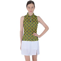 Df Sanhita Manjul Women s Sleeveless Polo Tee by deformigo