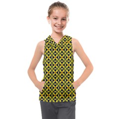 Df Sanhita Manjul Kids  Sleeveless Hoodie by deformigo