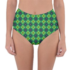 Df Pintonido Reversible High Waist Bikini Bottoms by deformigo