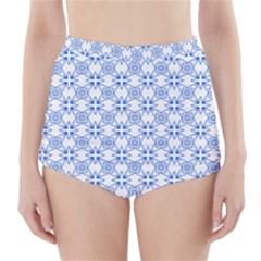 Df Paul Shineter High-waisted Bikini Bottoms by deformigo