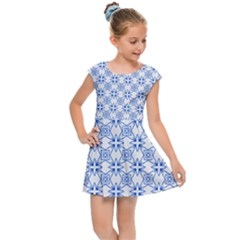 Df Paul Shineter Kids  Cap Sleeve Dress by deformigo