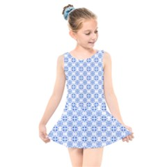 Df Paul Shineter Kids  Skater Dress Swimsuit by deformigo