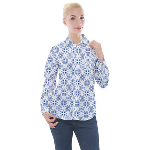 Df Paul Shineter Women s Long Sleeve Pocket Shirt by deformigo