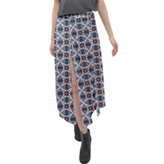 Df Cesare Lombardi Velour Split Maxi Skirt by deformigo