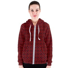Df Pointsettia Women s Zipper Hoodie by deformigo
