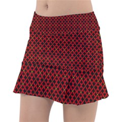 Df Pointsettia Tennis Skorts by deformigo