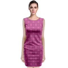 Df Calliandra Classic Sleeveless Midi Dress by deformigo