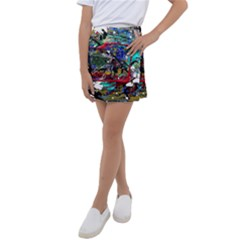 Speleology 1 1 Kids  Tennis Skirt by bestdesignintheworld