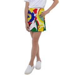 Africa As It Is 1 2 Kids  Tennis Skirt by bestdesignintheworld