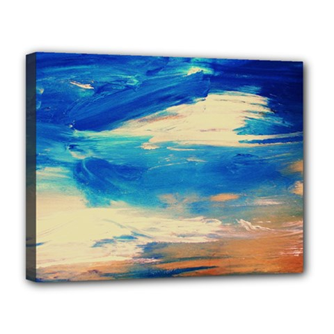 Skydiving 1 1 Canvas 14  X 11  (stretched) by bestdesignintheworld
