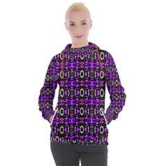 Abstract-r-5 Women s Hooded Pullover