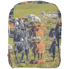 Cows At Countryside, Maldonado Department, Uruguay Full Print Backpack by dflcprints