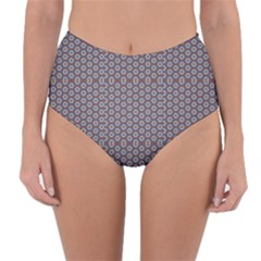 Grappa Reversible High Waist Bikini Bottoms by deformigo