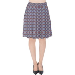 Grappa Velvet High Waist Skirt by deformigo