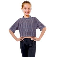 Grappa Kids Mock Neck Tee