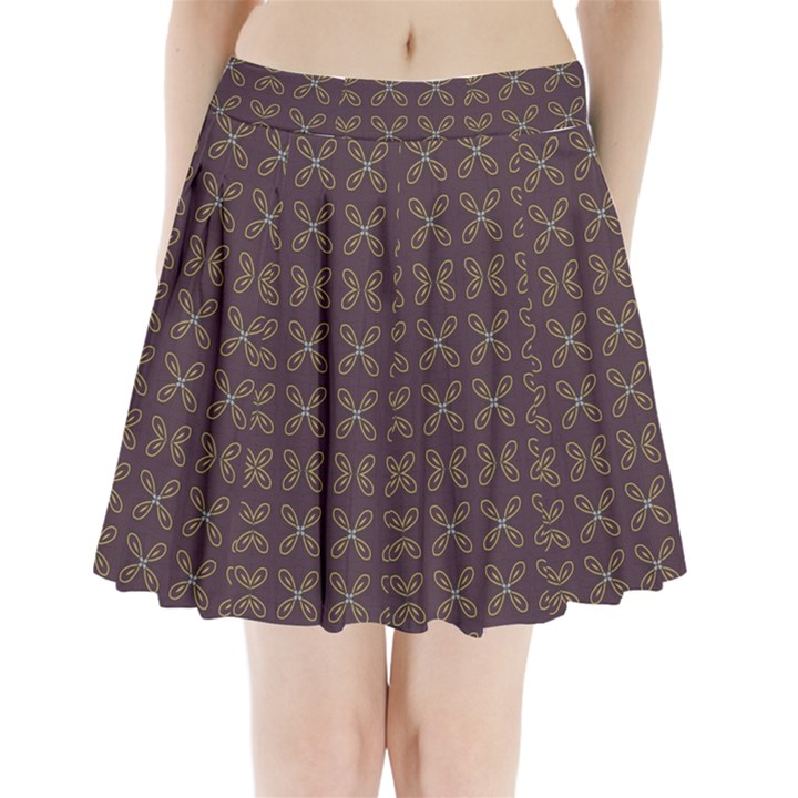 Malfa Pleated Mini Skirt