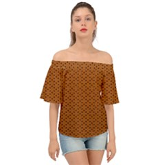 Saravena Off Shoulder Short Sleeve Top by deformigo