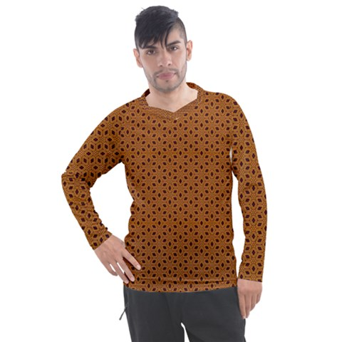 Saravena Men s Pique Long Sleeve Tee by deformigo