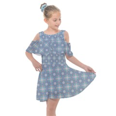 Chiccoli Kids  Shoulder Cutout Chiffon Dress by deformigo