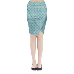 Minto Midi Wrap Pencil Skirt by deformigo