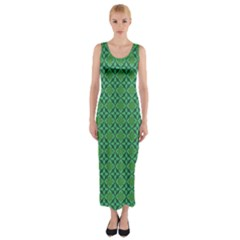 Esmeralda Fitted Maxi Dress by deformigo