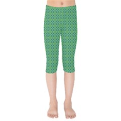 Esmeralda Kids  Capri Leggings  by deformigo