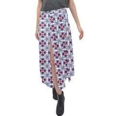 Kinoosao Velour Split Maxi Skirt by deformigo