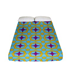 Traggina Fitted Sheet (full/ Double Size) by deformigo