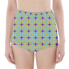 Traggina High-waisted Bikini Bottoms by deformigo