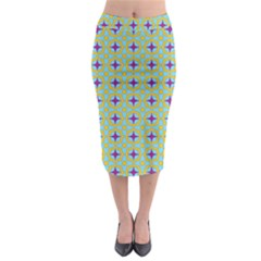 Traggina Midi Pencil Skirt by deformigo