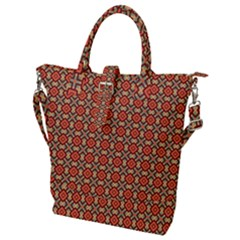 Tinabia Buckle Top Tote Bag by deformigo