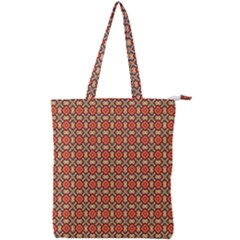 Tinabia Double Zip Up Tote Bag by deformigo
