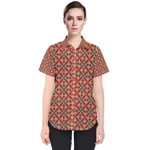 Vestoni Women s Short Sleeve Shirt by deformigo