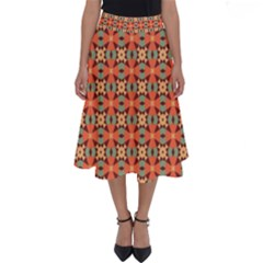 Ursanni Perfect Length Midi Skirt by deformigo