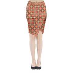 Ursanni Midi Wrap Pencil Skirt by deformigo