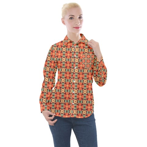 Ursanni Women s Long Sleeve Pocket Shirt by deformigo