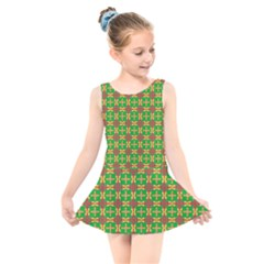 Yasawa Kids  Skater Dress Swimsuit by deformigo