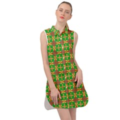 Yasawa Sleeveless Shirt Dress by deformigo