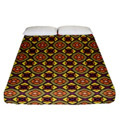Pitaka Fitted Sheet (queen Size) by deformigo