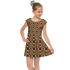 Pitaka Kids  Cap Sleeve Dress by deformigo