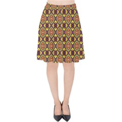 Pitaka Velvet High Waist Skirt by deformigo