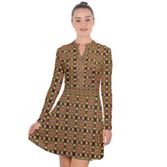 Pitaka Long Sleeve Panel Dress by deformigo