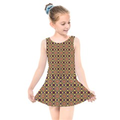Pitaka Kids  Skater Dress Swimsuit by deformigo