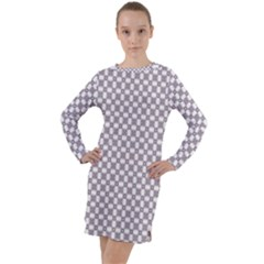 Watamula Long Sleeve Hoodie Dress by deformigo