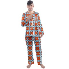 Vico Men s Satin Pajamas Long Pants Set by deformigo