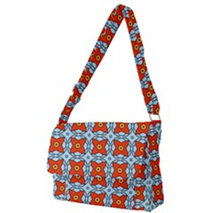 Vico Full Print Messenger Bag (l) by deformigo