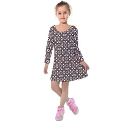 Castara Kids  Long Sleeve Velvet Dress by deformigo