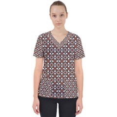 Castara Women s V Neck Scrub Top by deformigo